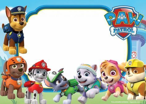 FREE Printable Paw Patrol Invitation Templates - Lookout Version        FREE Printable Paw Patrol Invitation Templates – Lookout version | FREE Invitation Templates - Drevio