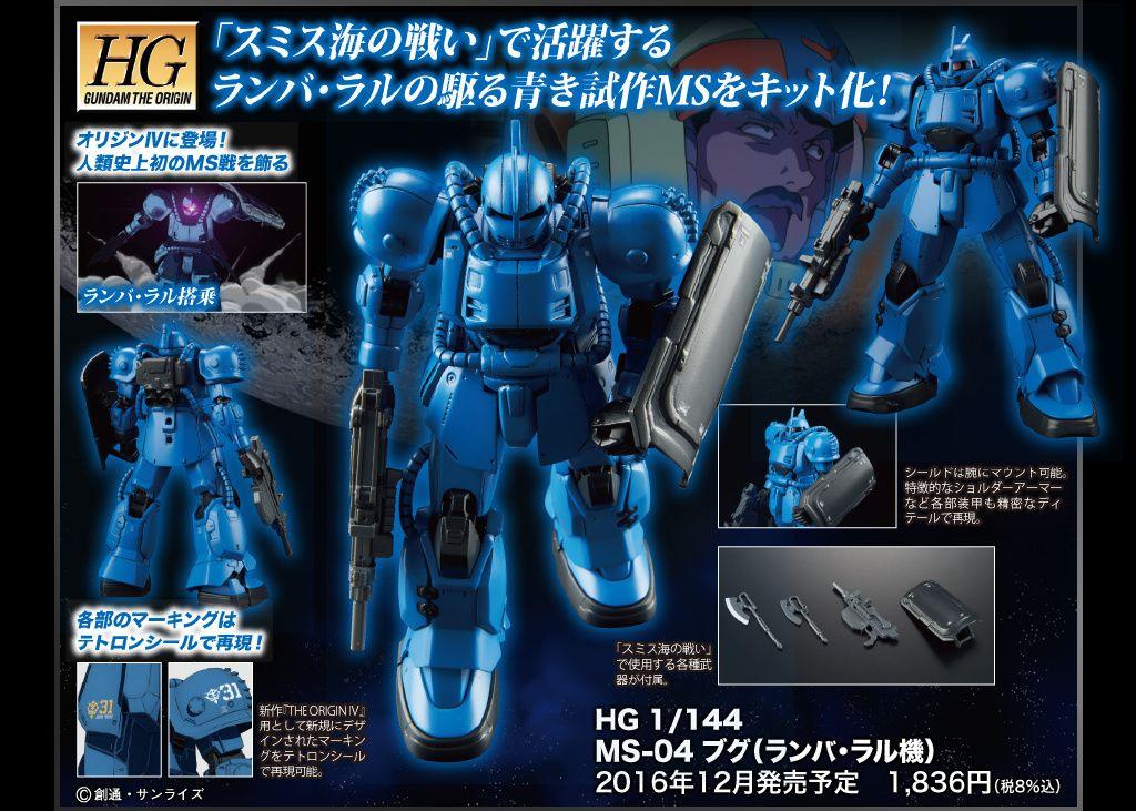 Bandai HGUC 1//144 Mobile Worker MW-01 Model 01 Late Type Model kit Ramba RAL