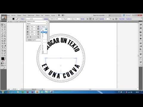 1 Illustrator Escribir Sobre Curva Texto En Trazado Youtube Textos Cómo Escribir Tutoriales