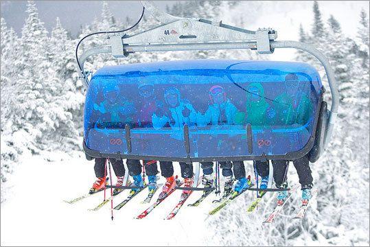 10 Great New England Ski Lifts Skiing Chair Lift Ski Lift
