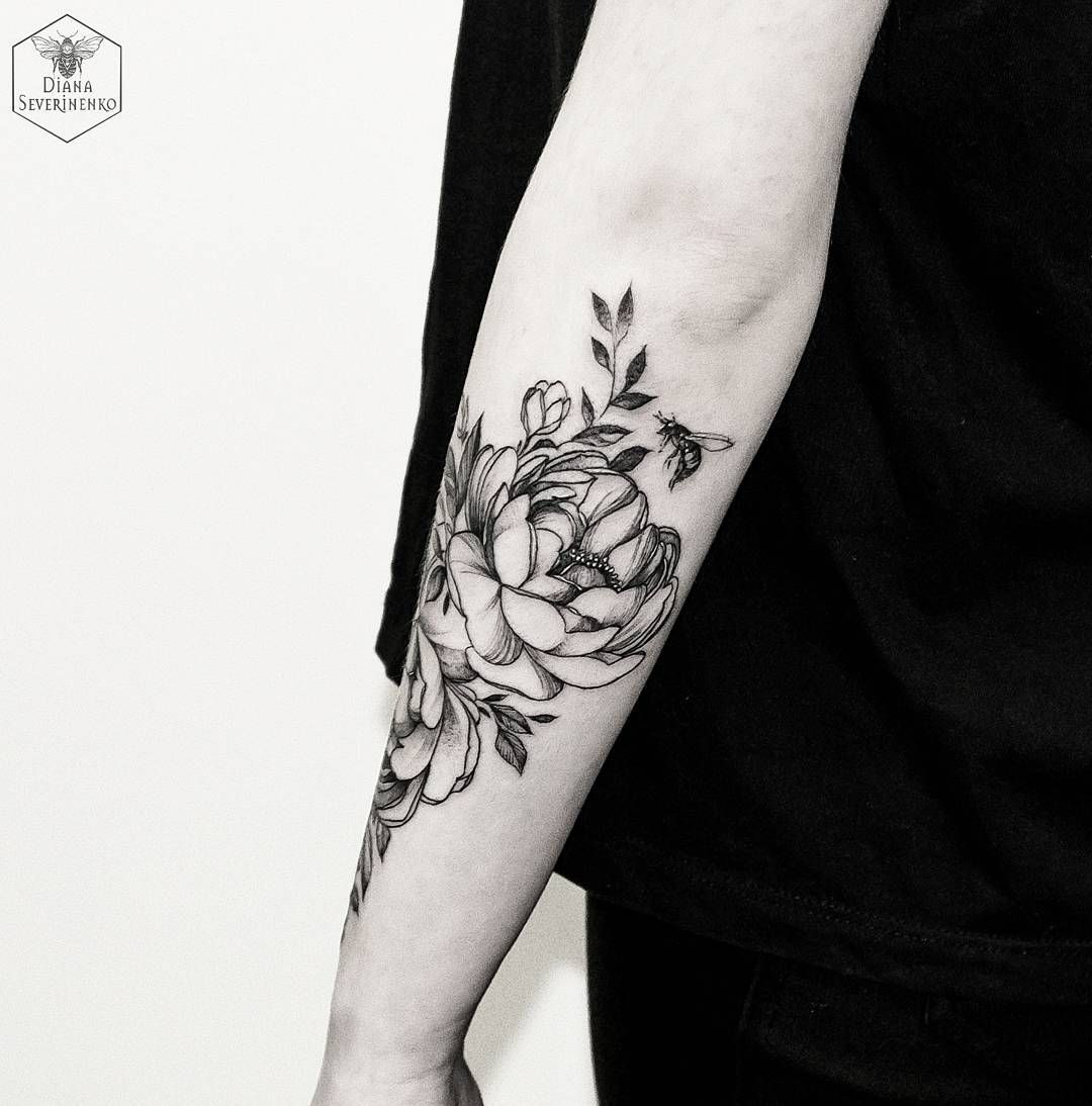 Love the placement tattoo pinterest tattoo peony and