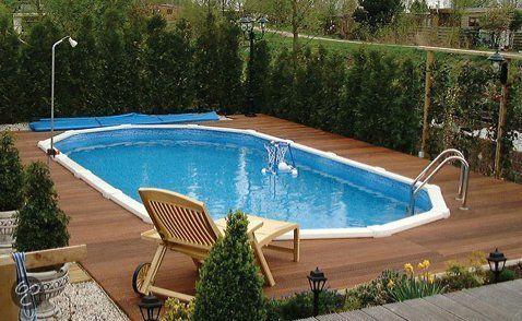 Interline Zwembad Interline Diana op inbouwzwembad - 8,50 x 4,90 m