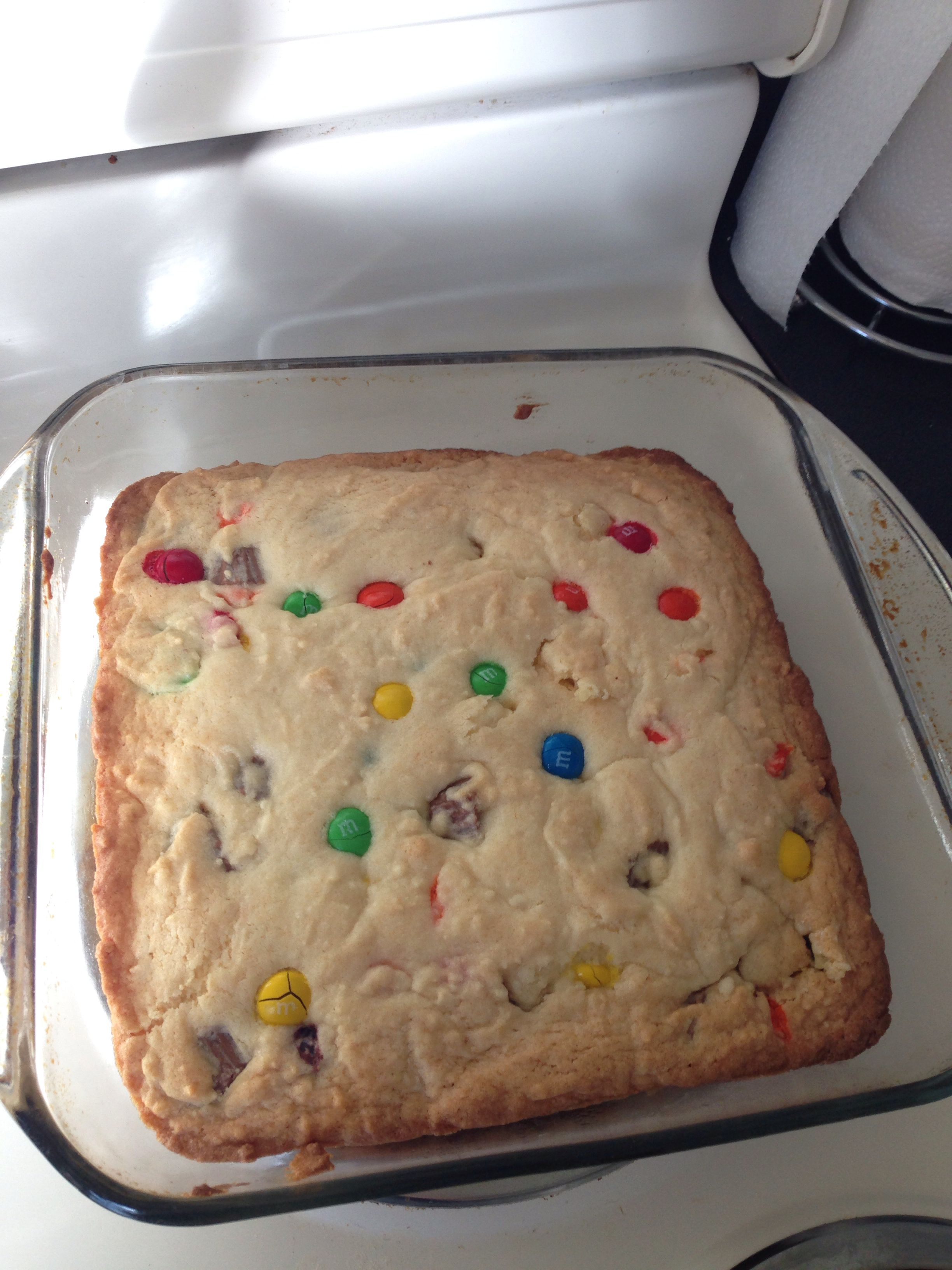 Sugar cookies with m&ms and Reese's