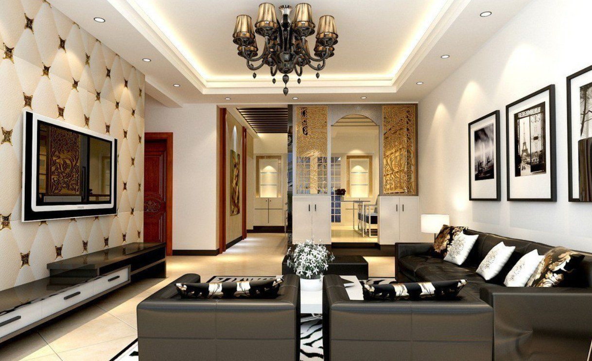 Ceiling Texture Types To Make Your Ceiling More Beautiful Classy Ceiling Design For Small Living Room Decorating Inspiration