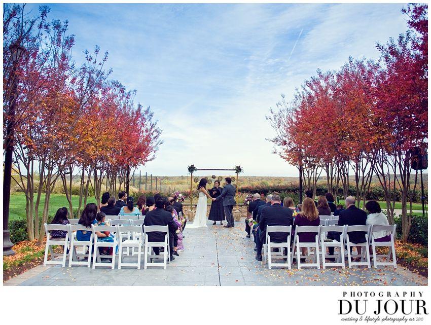 Fall Virginia Wedding At Lansdowne Resort