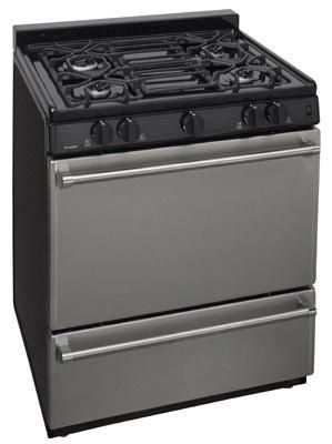 Orco Apartment Supplies Premier Pro Series 30 Gas Range Solid Oven Door 1 041 00