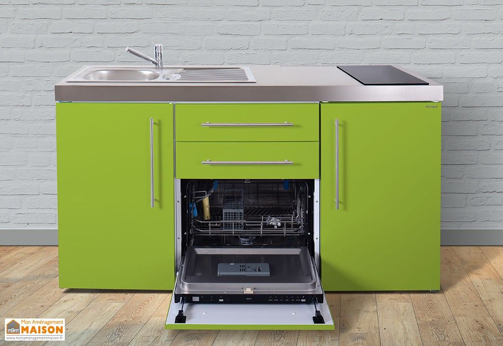 mini cuisine avec frigo lave vaisselle et vitroc ramiques mpgs160 in 2019 mini kitchen