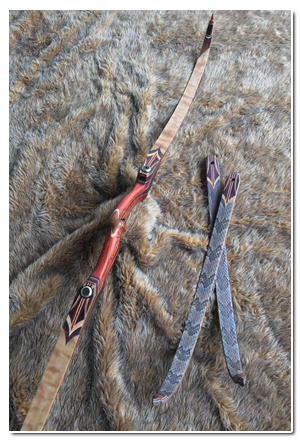 Eyecandy Acadian Woods Custom Traditional Bows (With