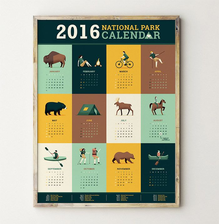 Business Calendar Design : Absolutely beautiful calendar designs