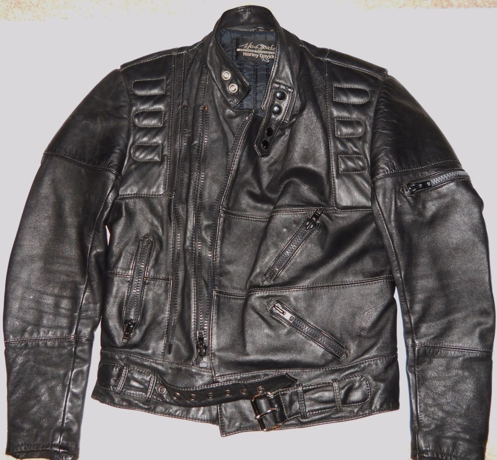 Hein Gericke Harley Davidson Leather Motorcycle Jacket