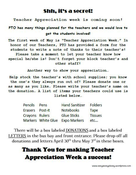 How To Show Teacher Appreciation In A Big Way Appreciation - letter to a teacher