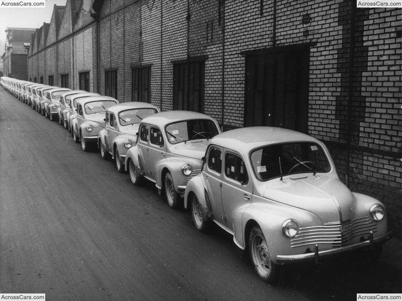 Renault 4 Cv 1948 Renault 4 Renault Small Cars