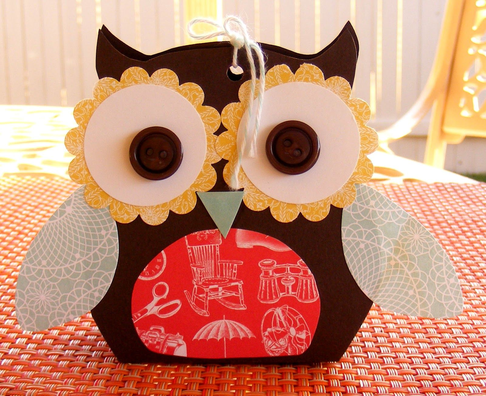 Stampin' With Leah : 3 Cute Owls.