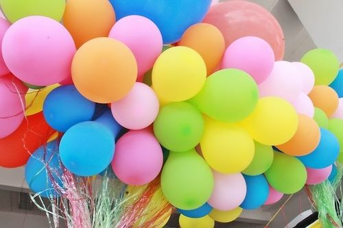 Colorful Balloon Wallpaper Colourful Balloons Party Cute Quotes Pretty