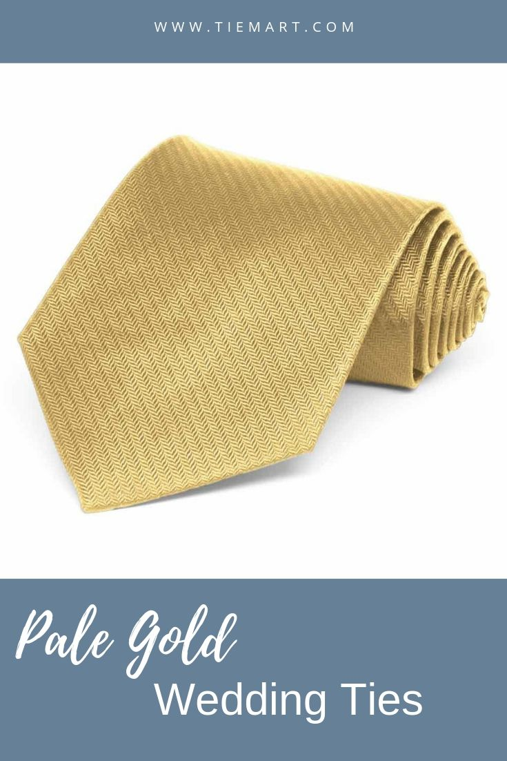 3f21e36df8d1 Pale Gold Herringbone Silk Extra Long Necktie. #wedding #goldwedding  #patterndesign #weddingdesigns #groom #herringbone #long #necktie