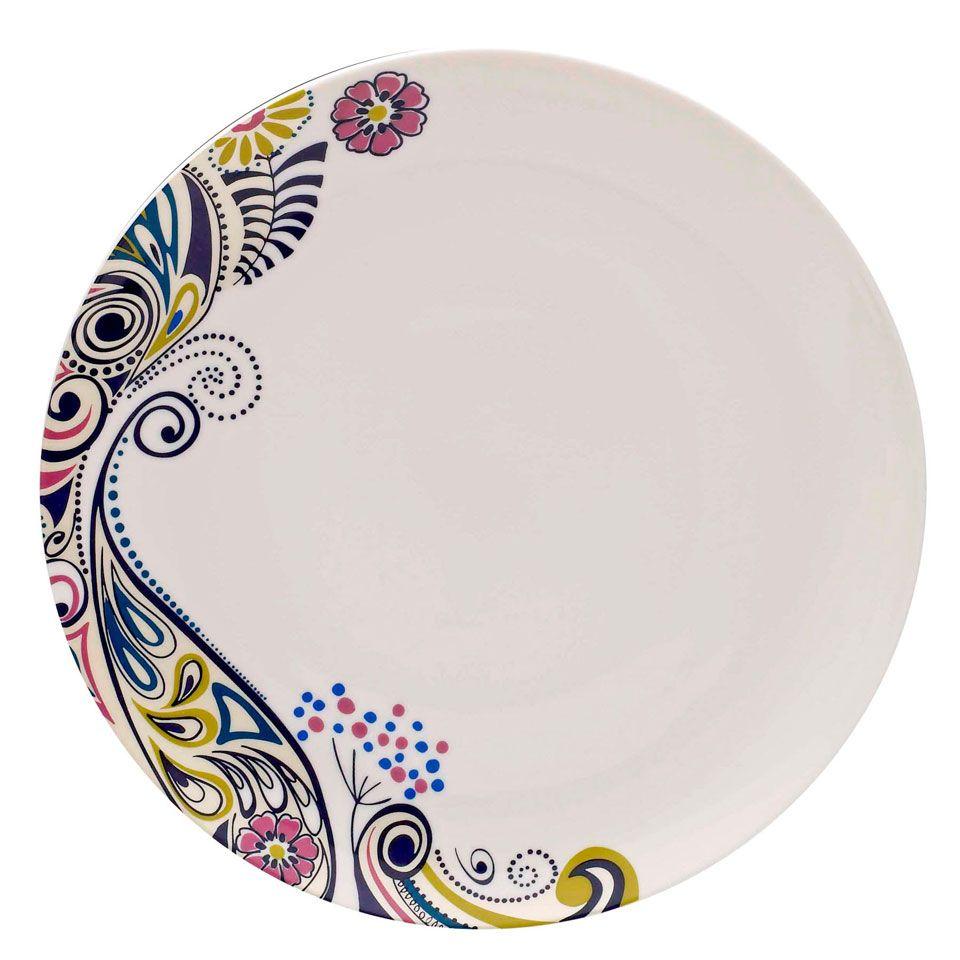 Painted ceramics  sc 1 st  Pinterest & Set Of Four Cosmic Dinner Plates - Beyond the Rack   Crafts ...