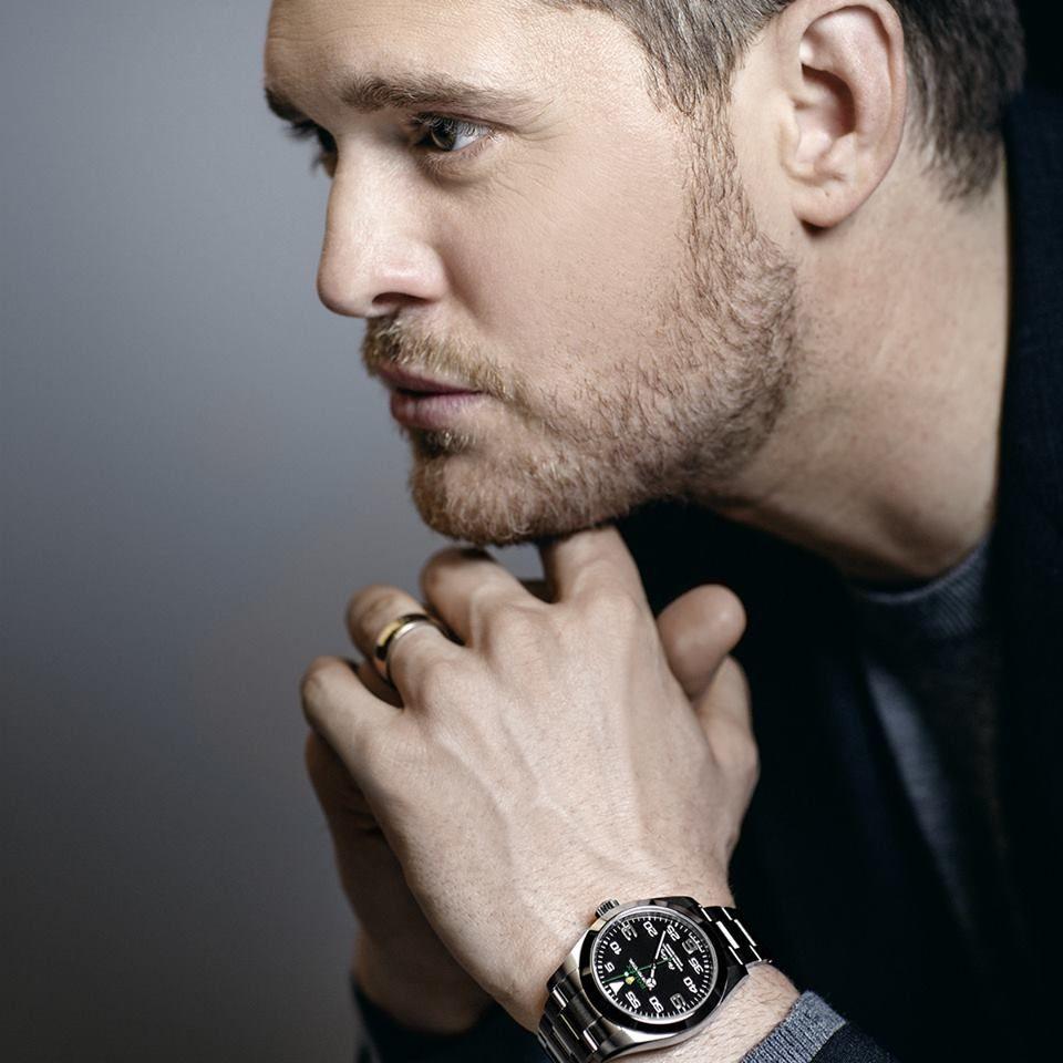 Michael Bublé pour Rolex