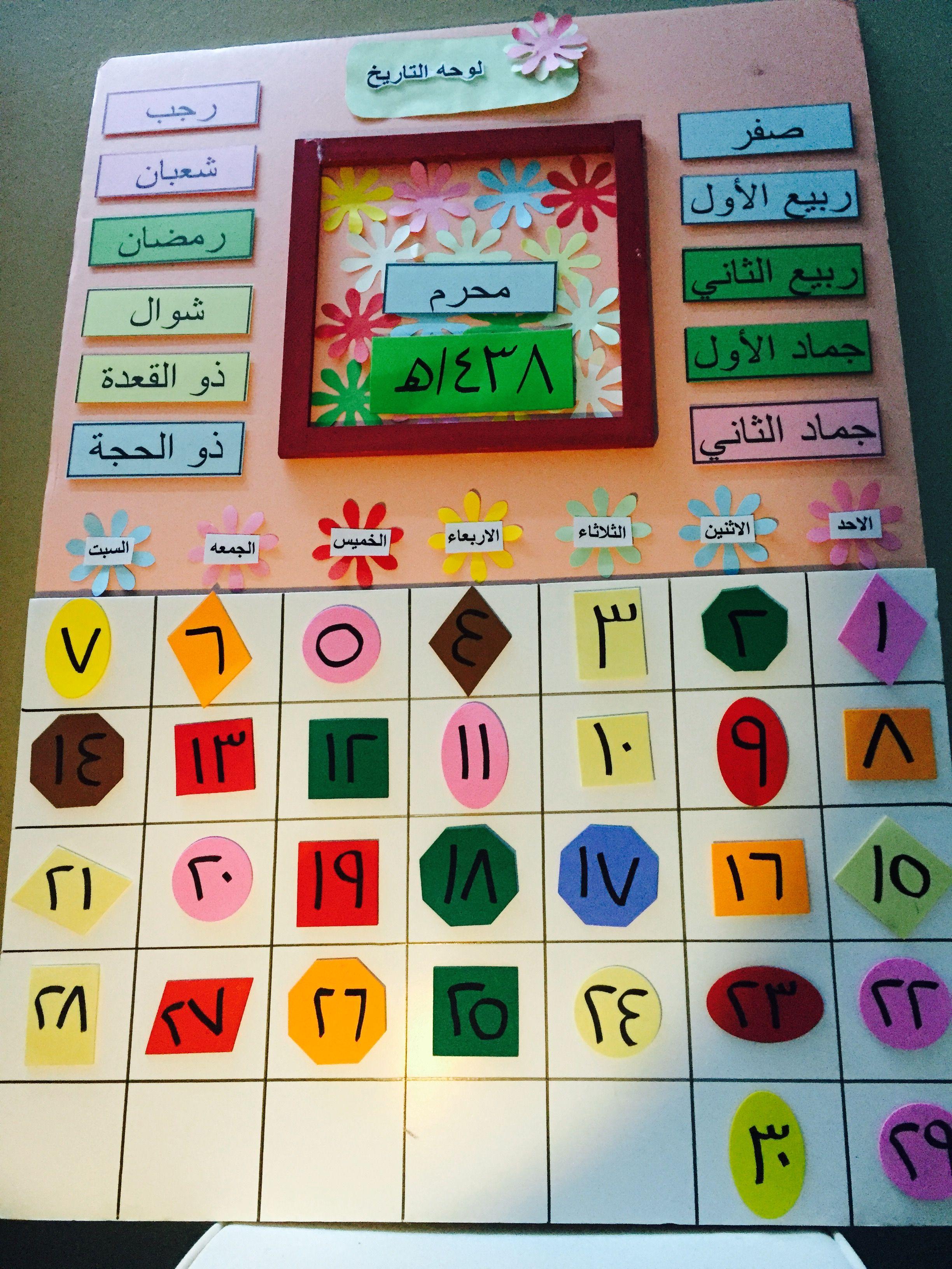 الهدف يكون الطفل قادر على أن يعدد أيام الأسبوع و يتعرف على أسمائها و يتعلم النطق الصحيح لأشهر السنة و يتعلم أيضا الأرقام ونطقها الصحيح ويتعلم طريق Games