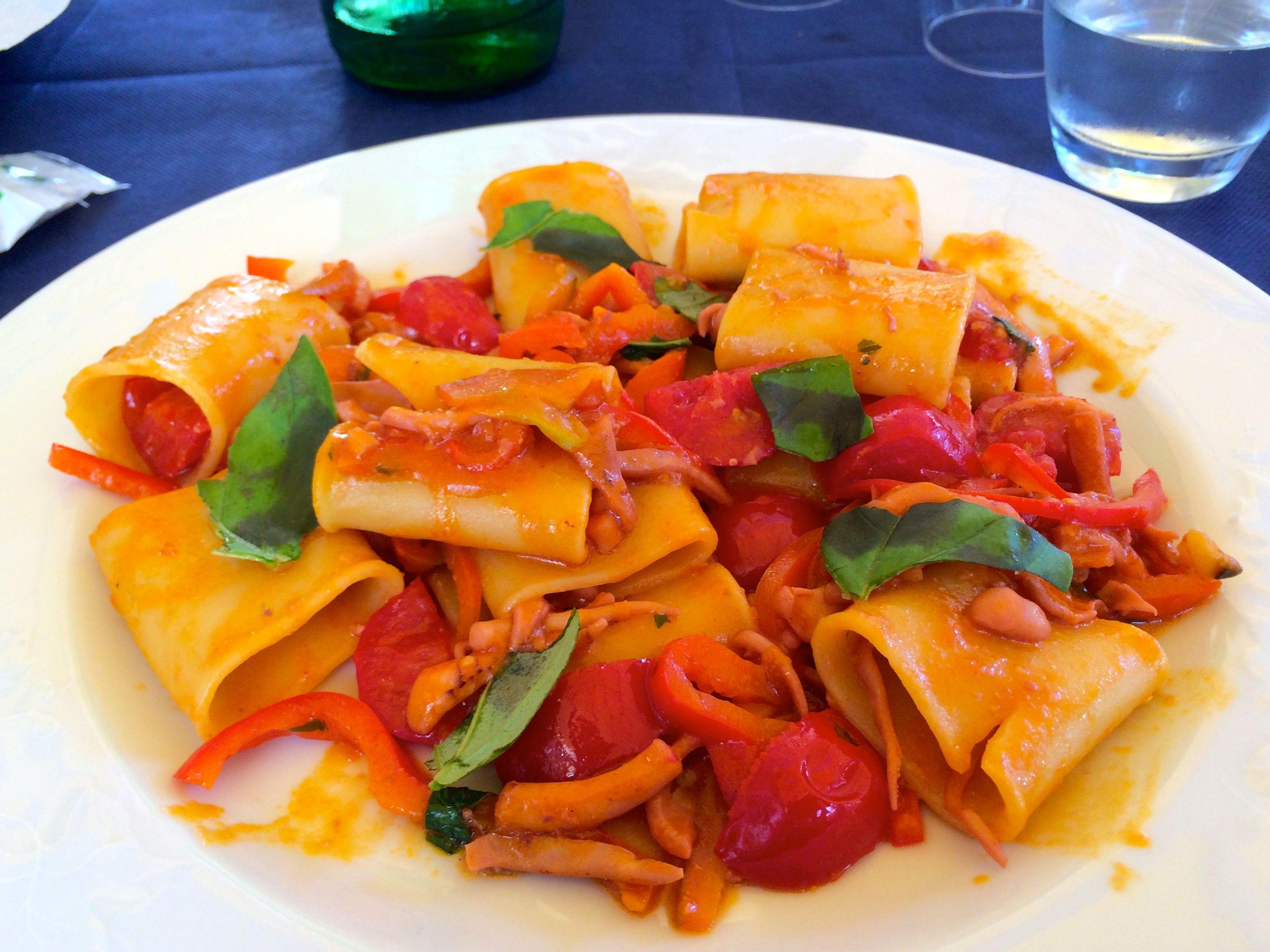 Italian Seafood Pasta with Mussels & Calamari | Recipe ...  |Authentic Italian Seafood Pasta Recipes