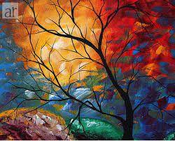 Resultado de imagen para arboles pintura