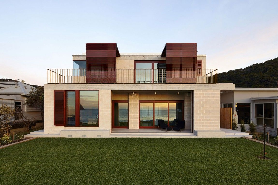 Block House by Porebski Architects | Architects, Besser block and House