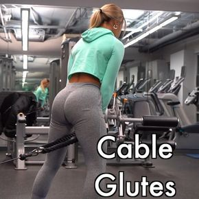 "αѕнℓєιgн on Instagram: ""CABLE GLUTES 🍑 . TAG a friend! . I have some BIG news for you guys that I have been anxiously waiting to tell you 😆!! The @nvgtn…"""