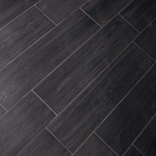 Carbon Vintagewood 15x60cm Gs N3016 Porcelain Wood Tile 15x60cm Wood Tile Bathroom Wood Tile Tile Floor