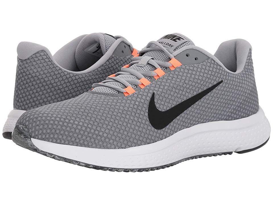 bcfb2dabd04c Nike RunAllDay (Wolf Grey Black Cool Grey Hyper Crimson) Men s Running