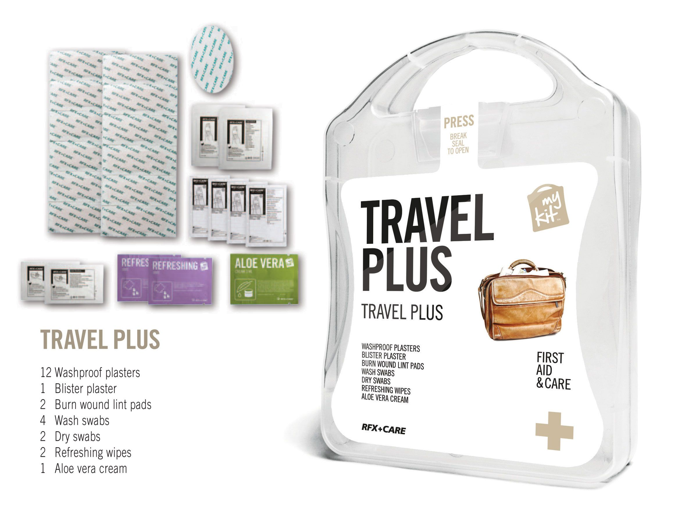 My kit travel plus hotel holiday overnight stay
