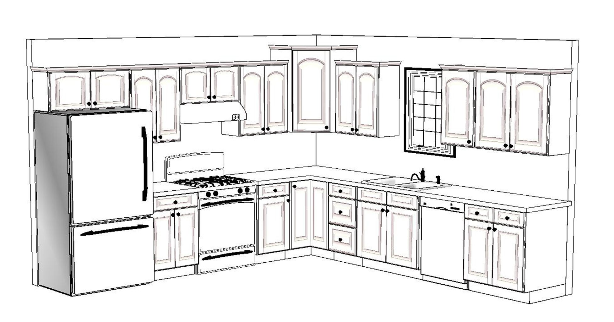 10 X 12 Kitchen Layout 4 12x12 Design Layouts