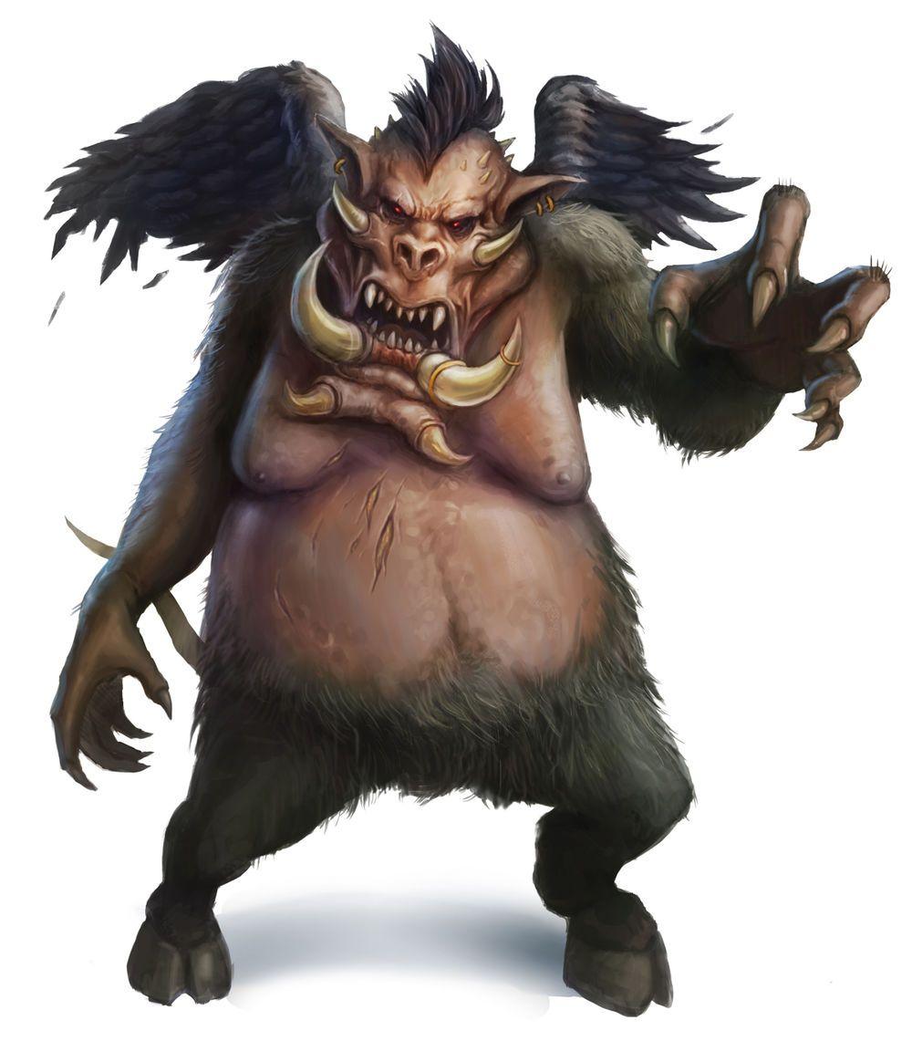 Nalfeshnee in 2019   Demons   Fantasy demon, Fantasy monster