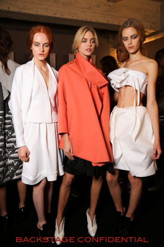 John Galliano Spring Summer 2013 collection and backstage | Backstage Confidential
