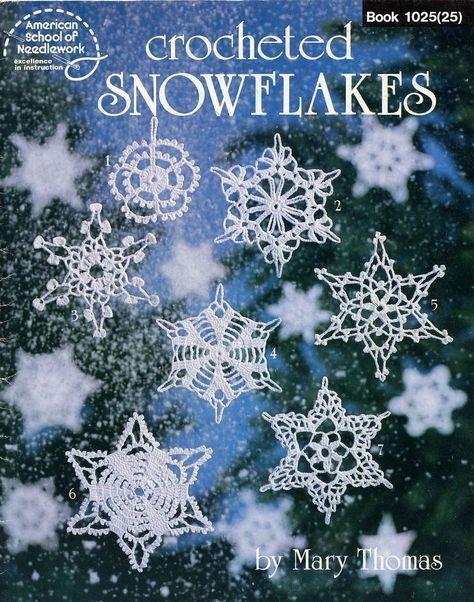 Album Archive - crochet - livros - books - Crocheted Snowflakes ...