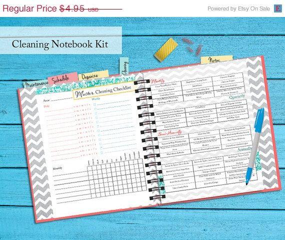 Mothers Day SALE 30+ Pgs Homemaking Binder Printable