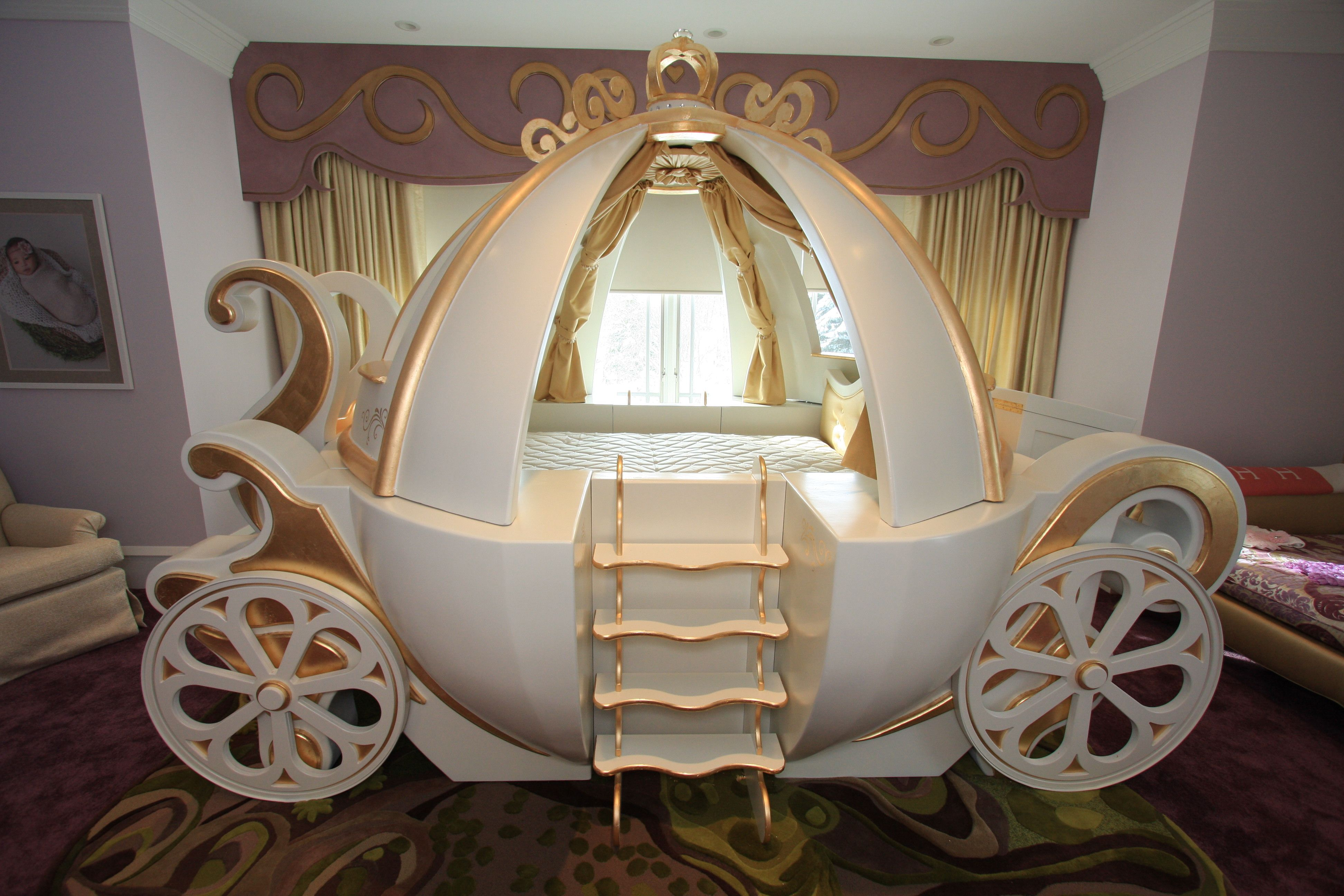 Latest Princess Bed from Cinderella