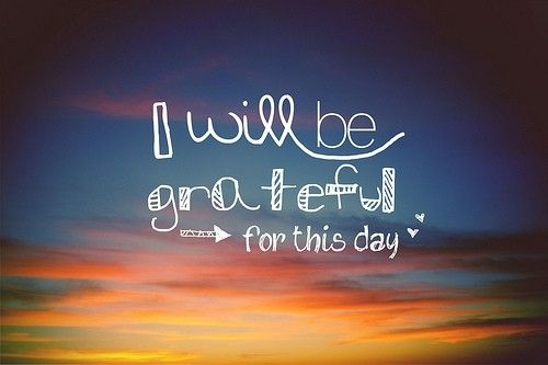What are you grateful for today?  I am grateful for YOU... my friends!