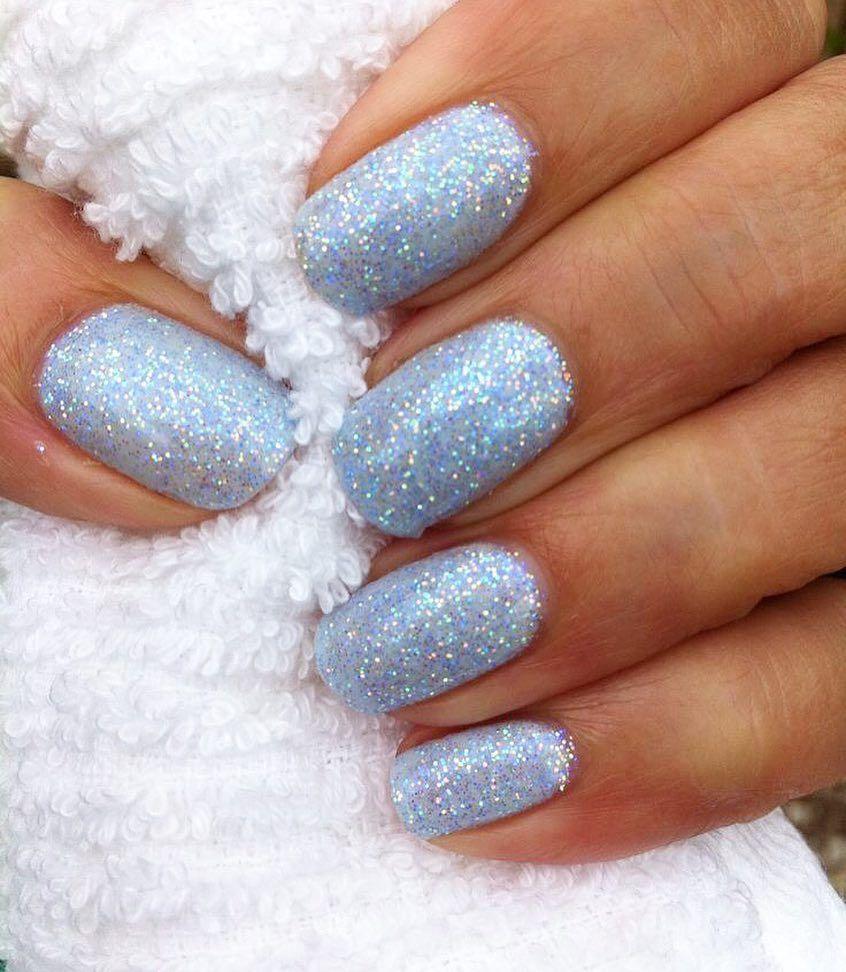 Www Gelnailvarnish Co Uk On Instagram Light Blue Gel Nails