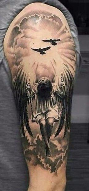 Diseños Para Tatuajes De Angeles En El Hombro Posibles Tatuaje