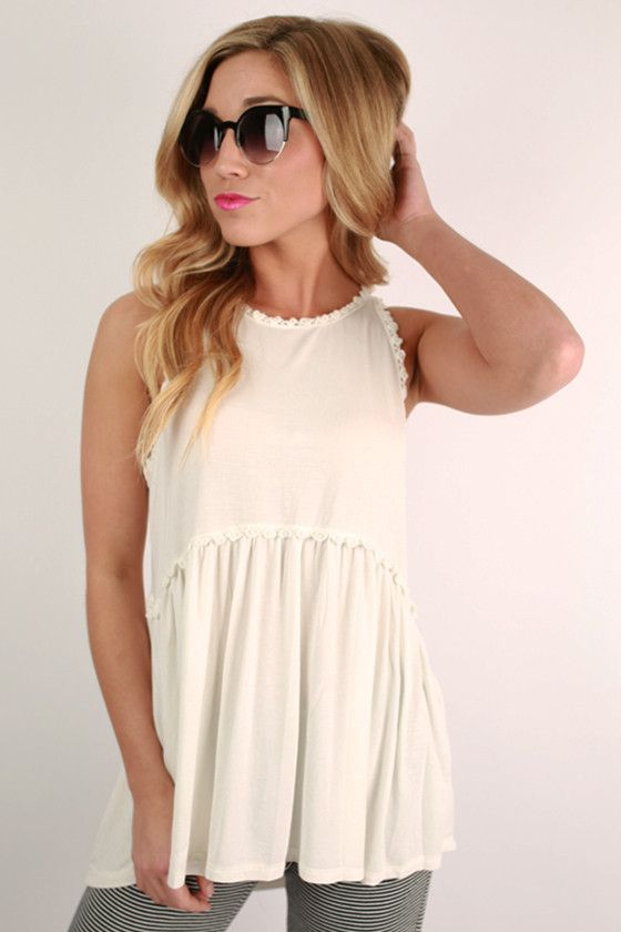 0a814d9cde1b0 This precious tank is the perfect addition to your spring wardrobe!