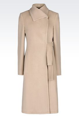 cf7d0803f9 Armani Collezioni Designer Coats for women - Armani.com | Mine Is ...