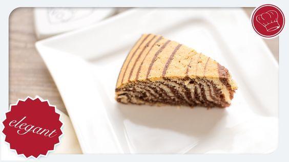 Zebrakuchen super lecker und einfach › elegantkochen.de