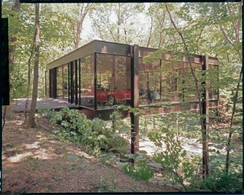 La casa de vidre.