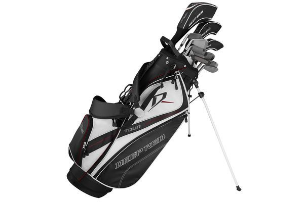 Wilson Deep Red Tour Package Set | Golf, Golf bags, Golf brands