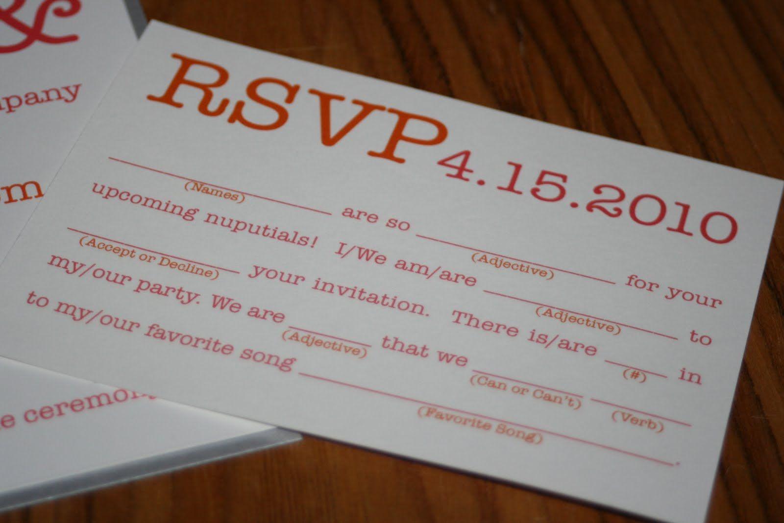 wedding invitation rsvp wording funny%0A fun reception cards wording  Google Search   Michelle u    s Wedding  Can u    t  wait    Pinterest   Rsvp  Reception and Wedding