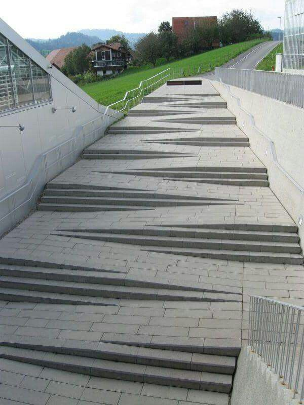 ADA Ramp Stair Handicapped Accessible.