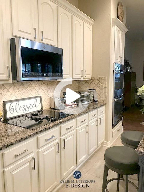 35 Atractivo Gabinete De Cocina De Diseno De La Pintura Ideas Que Usted Necesita Saber In 2020 Beige Kitchen Kitchen Decor Inspiration Maple Kitchen Cabinets