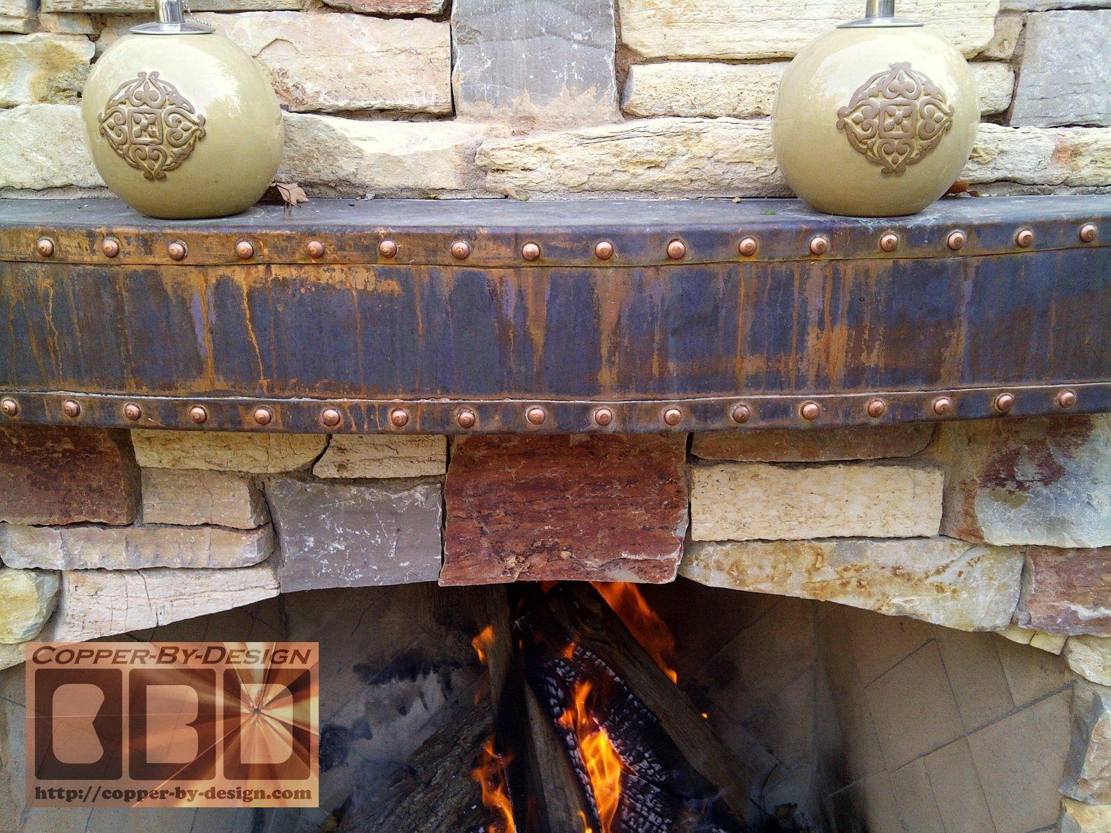 Sheet metal and Fireplace mantles