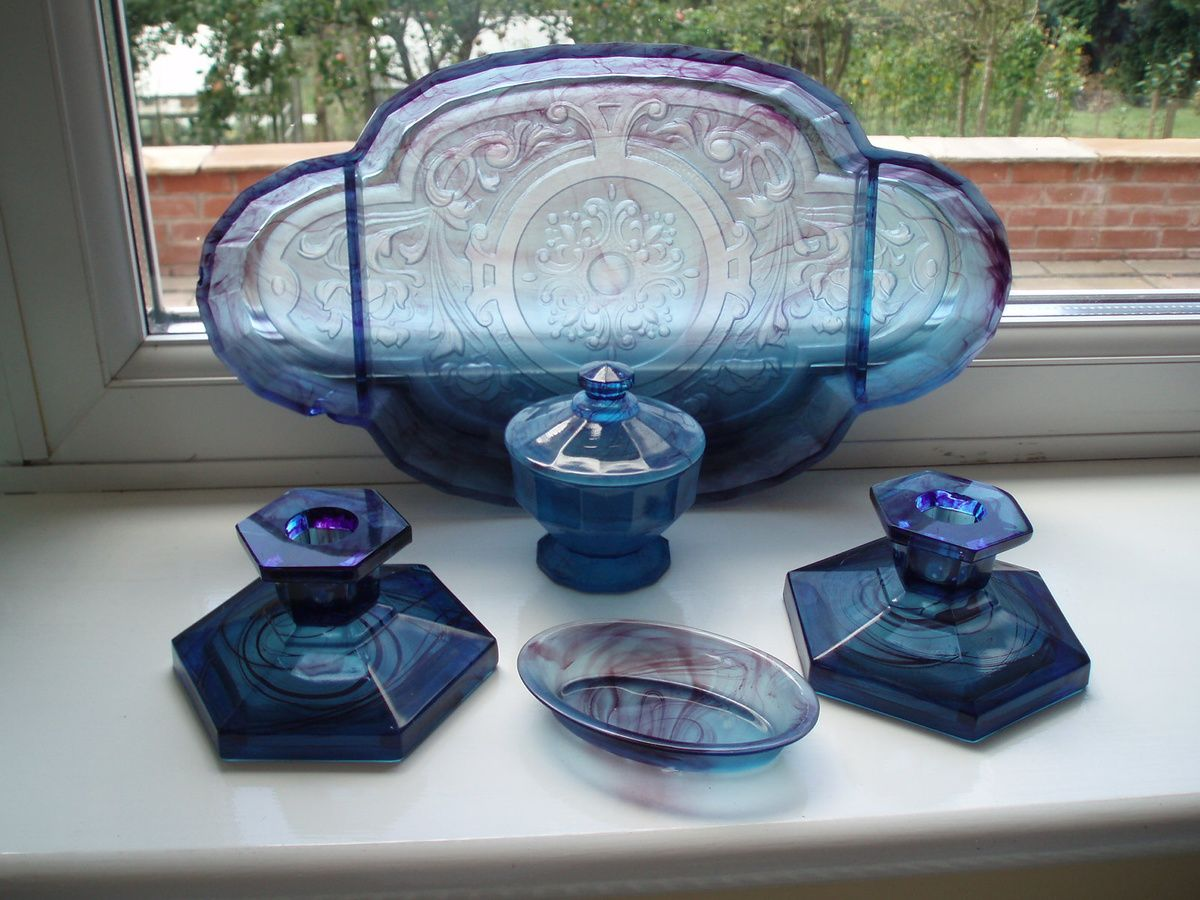 Davidson Blue Cloud Glass OMG, I finally found the origins of my ...