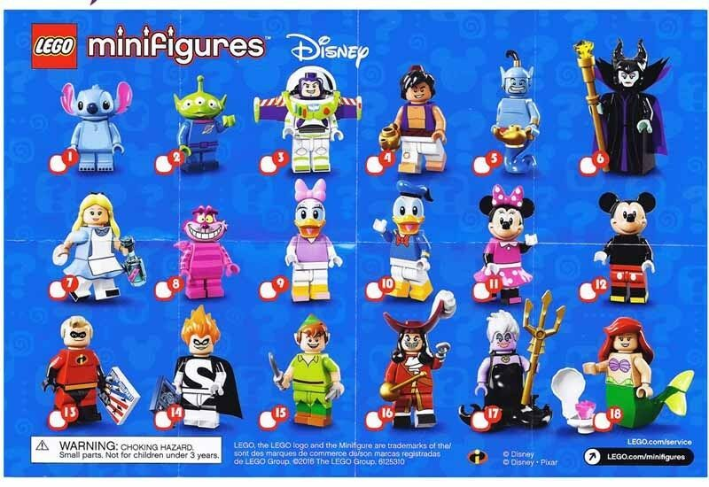 MINIFIGURES DISNEY CHOOSE MINIFIG LEGO CMF /& MORE YOU PICK FROM LIST