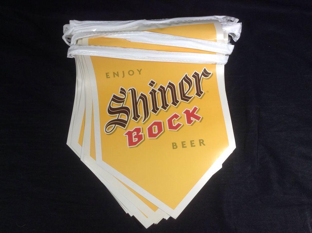 SHINER BOCK  Banners